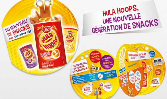 Plaquette hula hoops