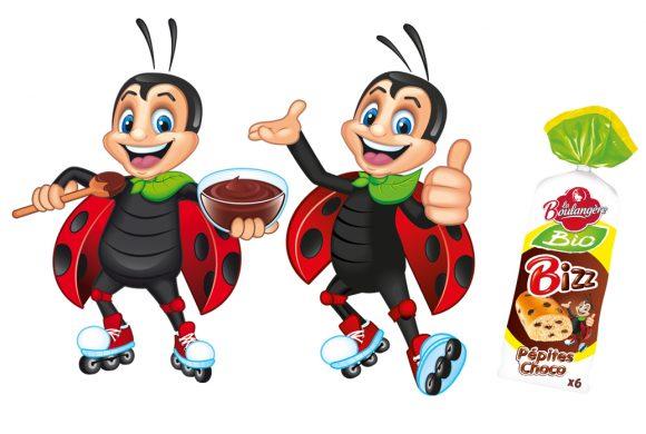 BIZZ - Mascotte la Boulangère