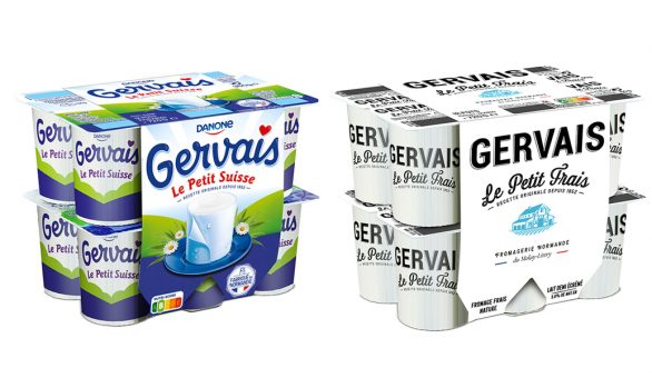 packaging Gervais