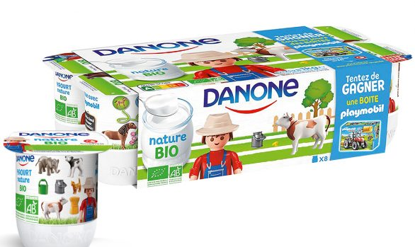 packaging Danone Kids