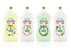 liquides vaisselle Maison verte aux Huiles essentielles Bio