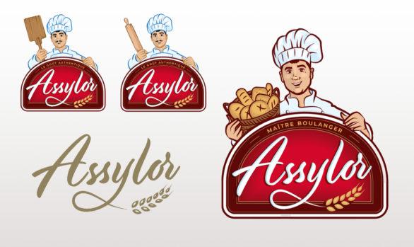 Assylor - logo & Mascotte